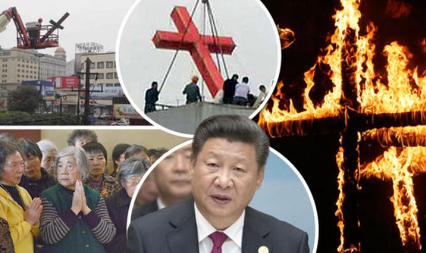 Governo de Xi Jinping aumenta repressão religiosa na China. (Foto: Reprodução/Daily Express)