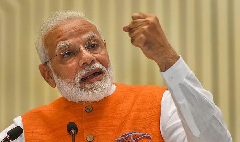 El primer ministro indio Narendra Modi.  (Foto: Reproducción / Noticias UG)