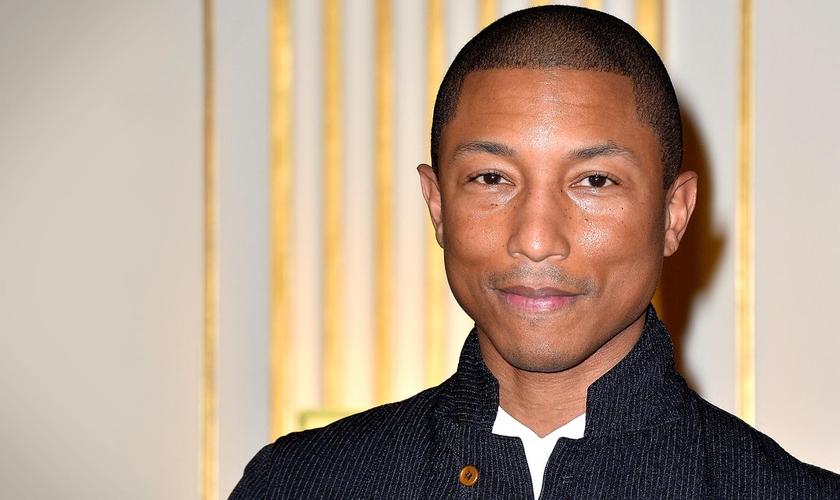 Cantor Pharrell Williams. (Foto: Reprodução/Grammy)