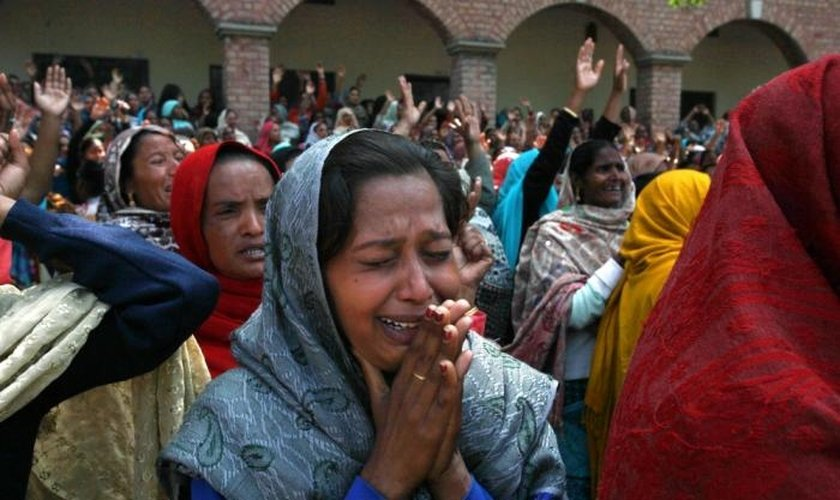 No Paquistão, cristãos sofrem com ataques e perseguições. (Foto: Reprodução/Asia News)