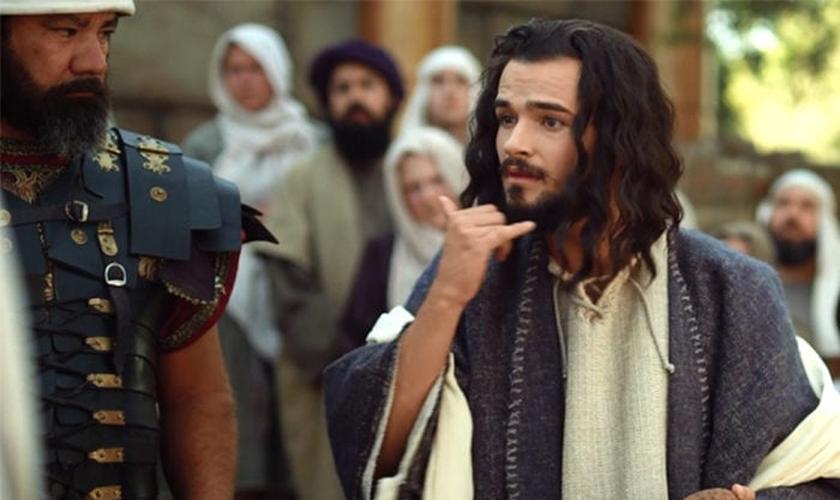 Cena piloto do filme sobre Jesus em língua de sinais. (Foto: Reprodução/Deaf Missions/MNN)