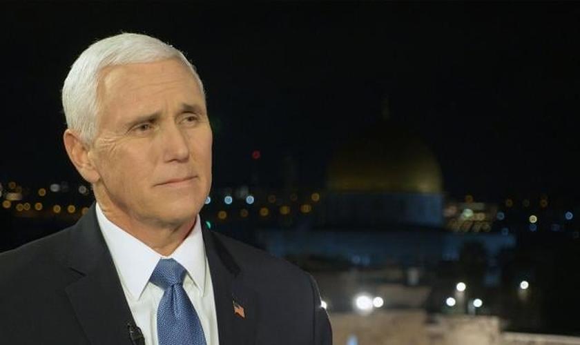 Mike Pence esteve com mais de 40 líderes mundiais no 5º Fórum Mundial do Holocausto, em Jerusalém. (Foto: CBN News)