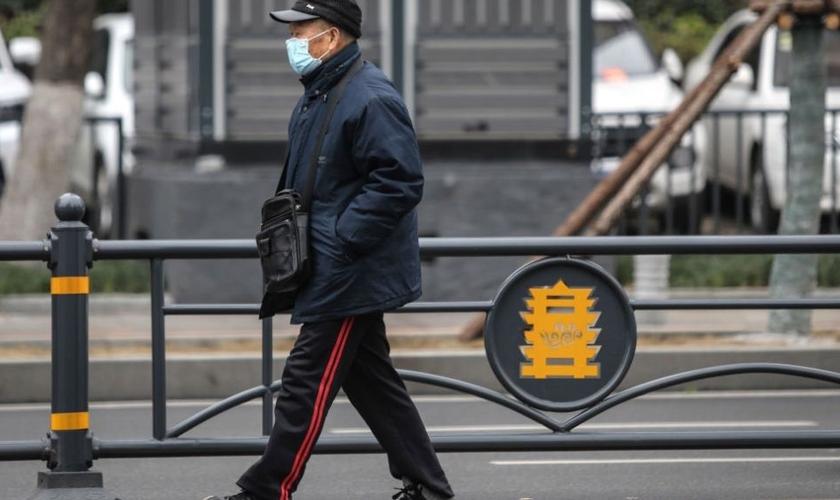 Residentes de Wuhan estão em quarentena por causa do surto de coronavírus. (Foto: Reprodução/Time)