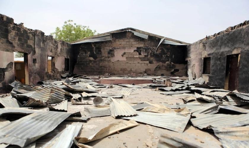 O grupo terrorista Boko Haram tem incendiado igrejas na Nigéria. (Foto: REUTERS/Joe Penney)