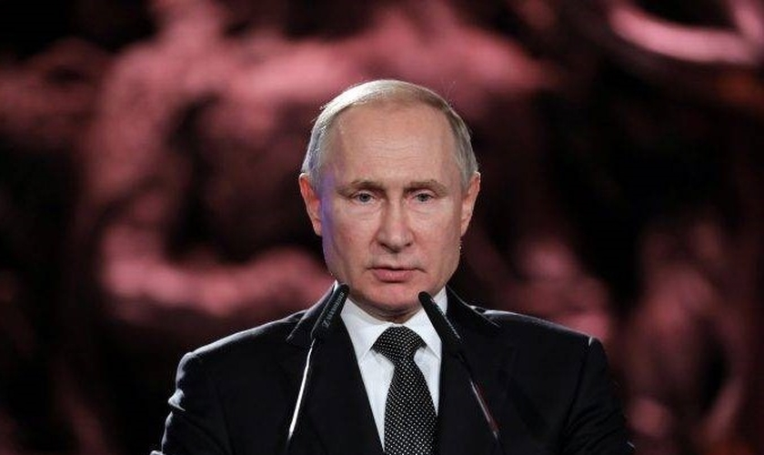 Vladimir Putin, presidente da Rússia. (Foto: Reprodução/Global News)