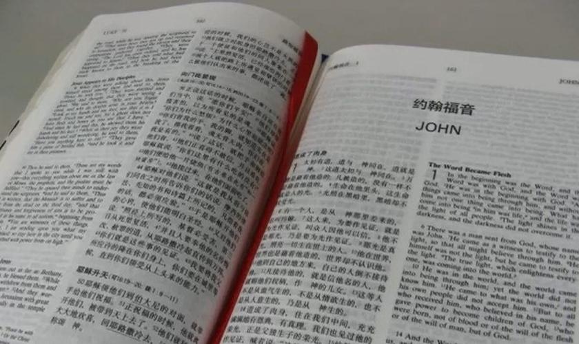 Bíblia traduzida para o mandarim. (Foto: Reprodução/Premier)