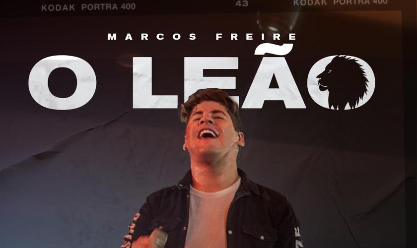 """Marcos Freire está preparando o lançamento do single """"O Leão"""". (Imagem: Divulgação)"""