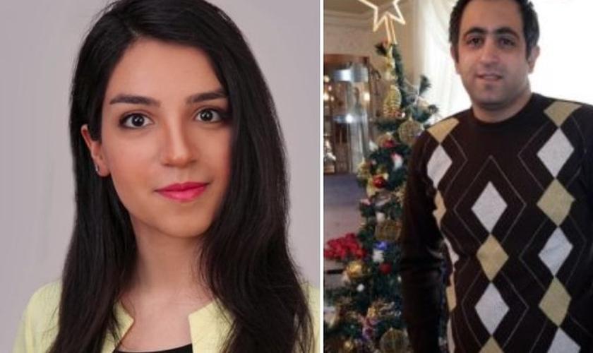 Fatemeh (Mary) Mohammadi está sob fiança, enquanto Ramiel Bet-Tamraz foi libertado três semanas antes do previsto. (Foto: Reprodução/Iranwire)