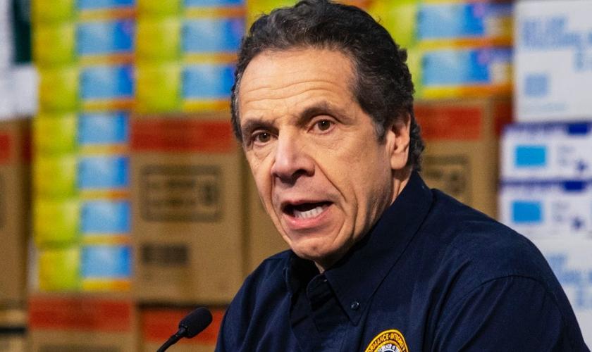 Andrew Cuomo, governador do estado de Nova York. (Foto: reprodução/Christian Headlines)
