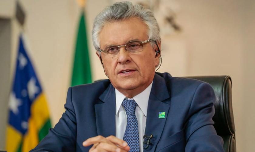 O governador de Goiás, Ronaldo Caiado. (Foto: Reprodução/TV Cultura)