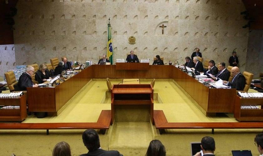Plenário do STF, presidido pelo ministro Dias Toffoli. (Foto: Fabio Rodrigues Pozzebom/Agência Brasil)