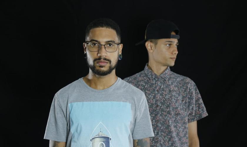 A Banda Vante é formada por Thauan Honório (esquerda) e Thom Souza (direita). (Foto: Divulgação)