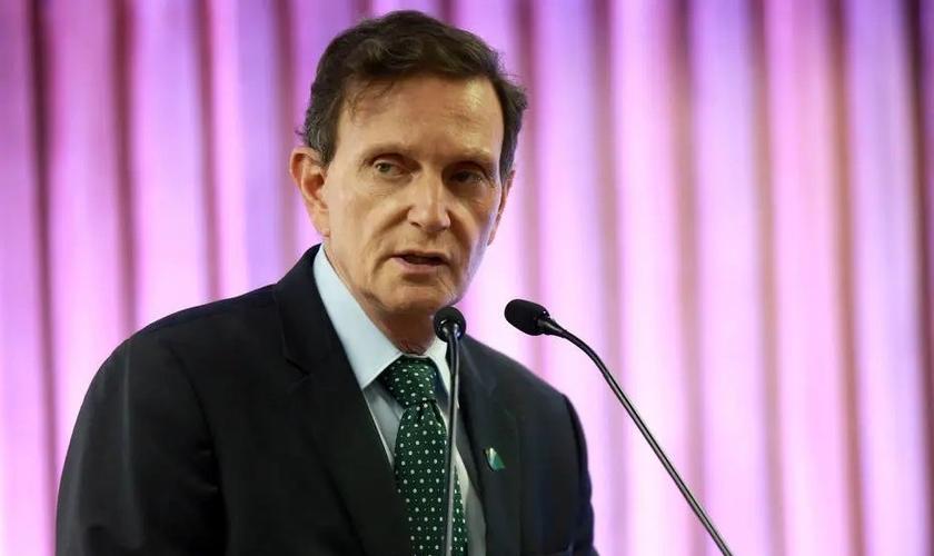 O prefeito do Rio, Marcelo Crivella. (Foto: Reprodução / Agência Estado)
