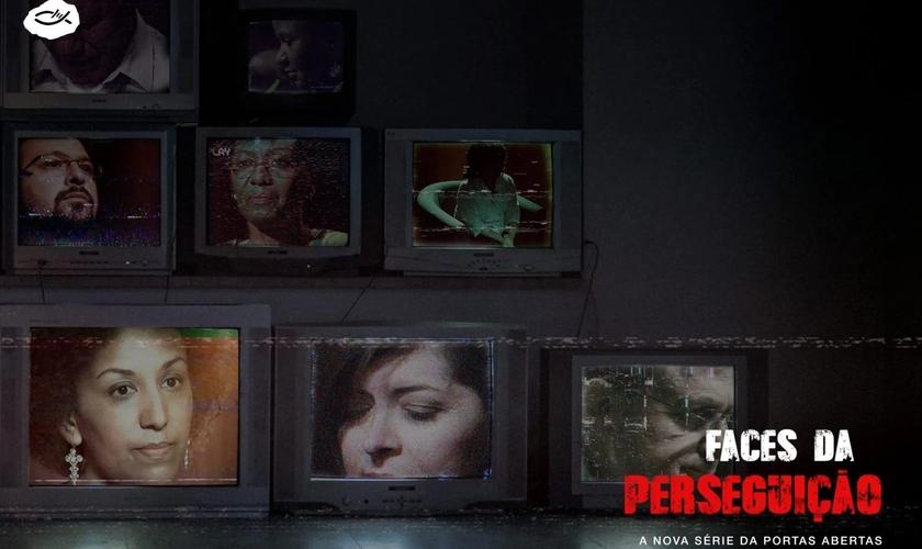 Divulgação do documentário Faces da Perseguição. (Foto: Reprodução/Portas Abertas)