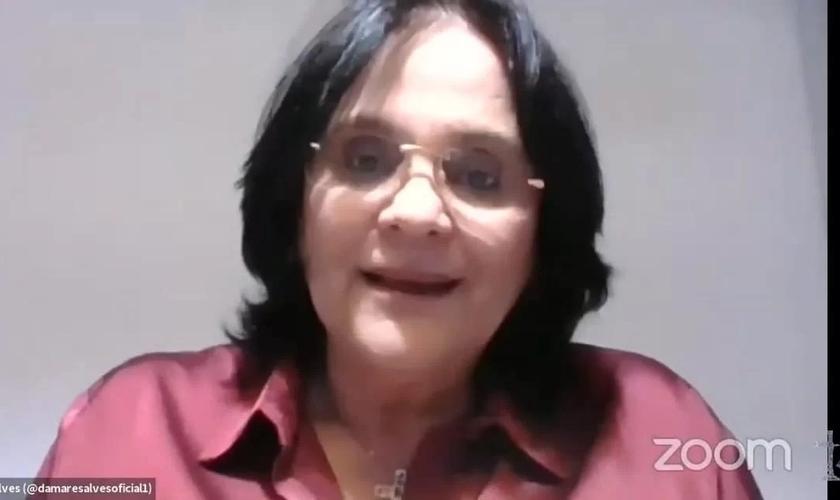 Ministra foi uma das convidadas do terceiro encontro da 1ª Jornada Virtual de Estudos em Direito e Religião. (Foto: Reprodução / CP)