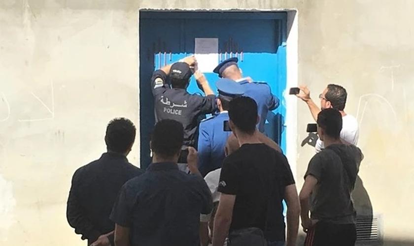 Na Argélia, a polícia fechou a Igreja Protestante do Evangelho Pleno de Tizi-Ouzou, entre outras. (Foto: Reprodução/Morning Star News)