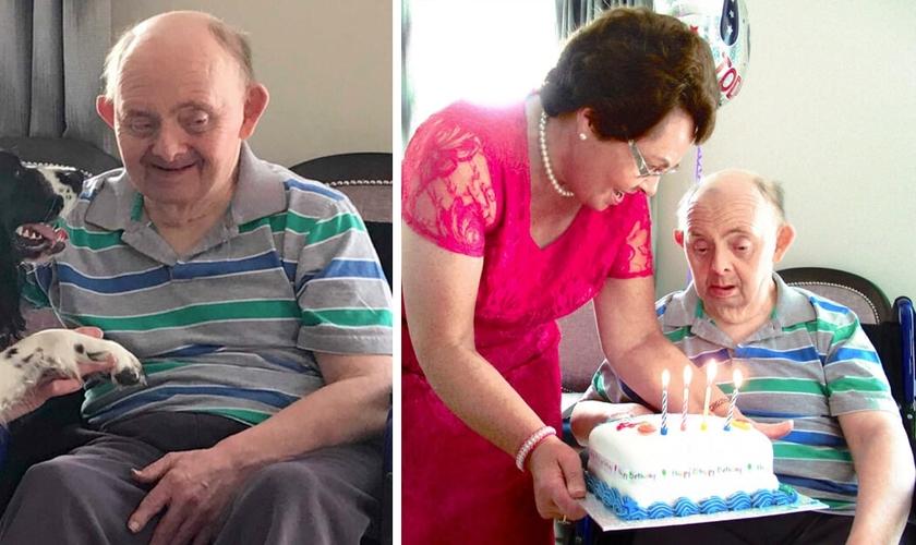 George McCullagh comemora 76 anos de vida apesar dos prognósticos médicos. (Foto: Reprodução / Right to Life)