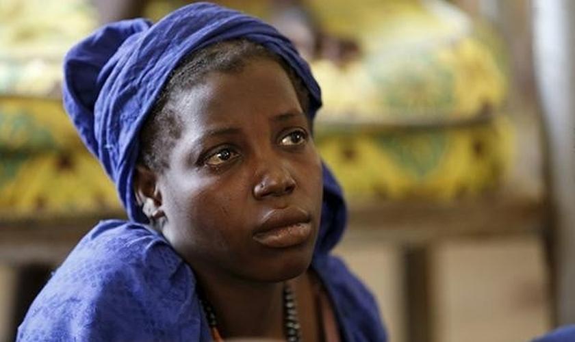 A maioria das mulheres recentemente resgatadas do Boko Haram está grávida. (Foto: Rerprodução/Vibe)