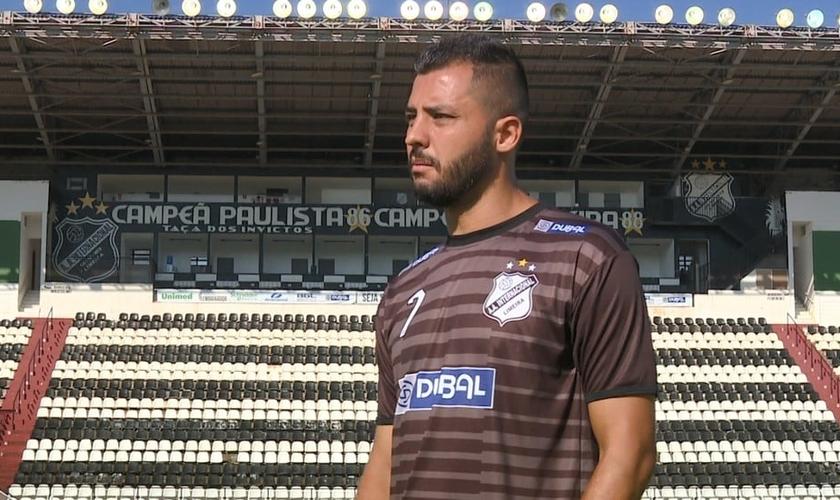 Nata começou e terminou a carreira na Inter de Limeira. (Foto: Carlos Velardi/EPTV)