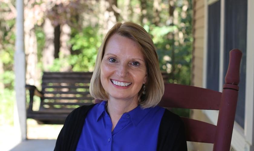 Karen Vinyard envolveu-se no ministério de correções quando o marido estava na prisão. (Foto: Reprodução / WMU)