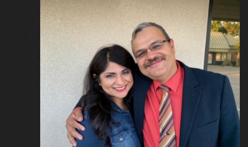 Norma e Tim Peña tiveram seu casamento restaurado por Deus. (Foto: Reprodução / God Reports)