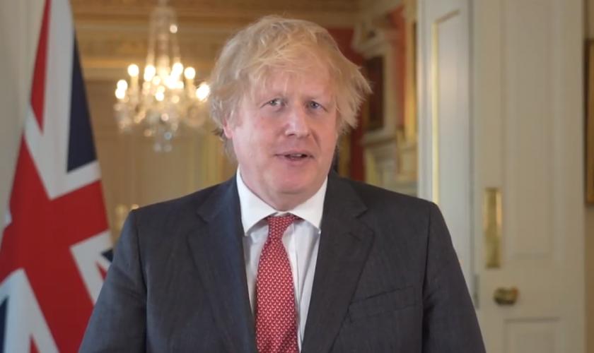 Boris Johnson agradeceu aos cristãos por suas orações. (Foto: Reprodução/Christian Post)