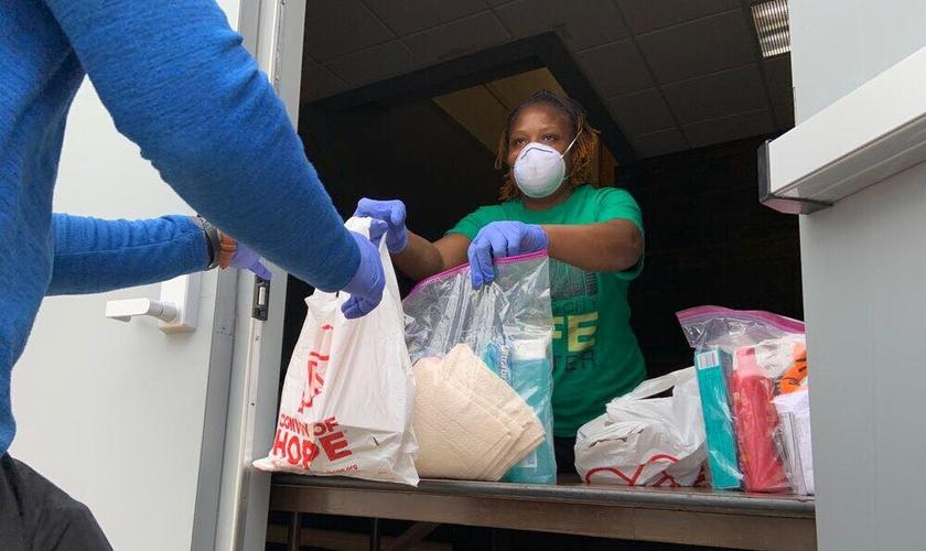 Mais de 40 milhões de refeições foram distribuídas pela organização Convoy of Hope. (Foto: Convoy of Hope)