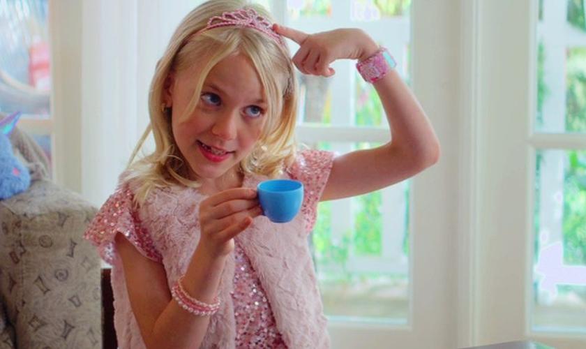 Bailey é uma das personagens da nova série infantil 'Clube das Babás'. (Imagem: Reprodução / Netflix)