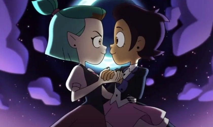 Personagem Luz Noceda, de 14 anos, é personagem bissexual em produção da Disney. (Foto: Reprodução / The Sun)