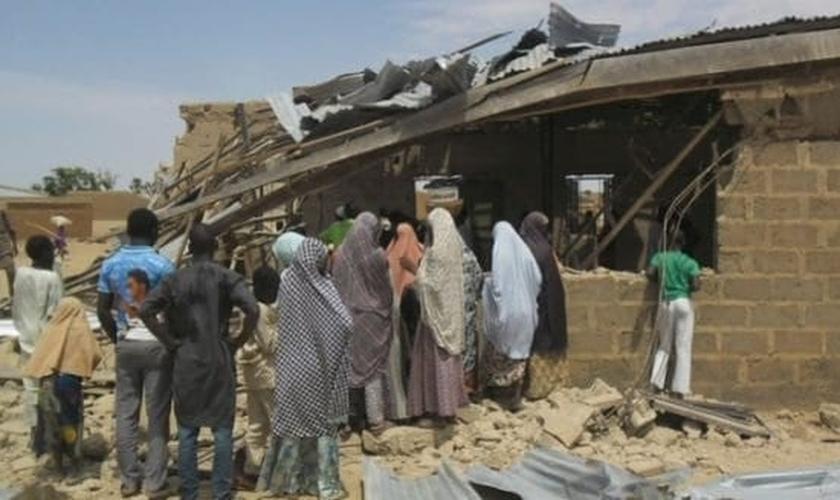 Ataques a cristãos pelos jihadistas cresce na Nigéria. (Foto: Reprodução / Africa top Success)