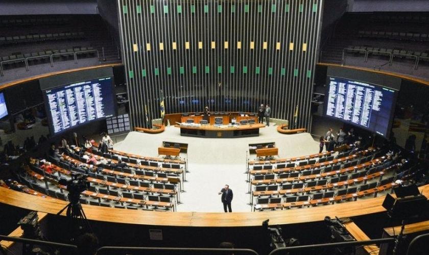 Plenário da Câmara dos Deputados. (Foto: Antonio Cruz/ Agência Brasil)