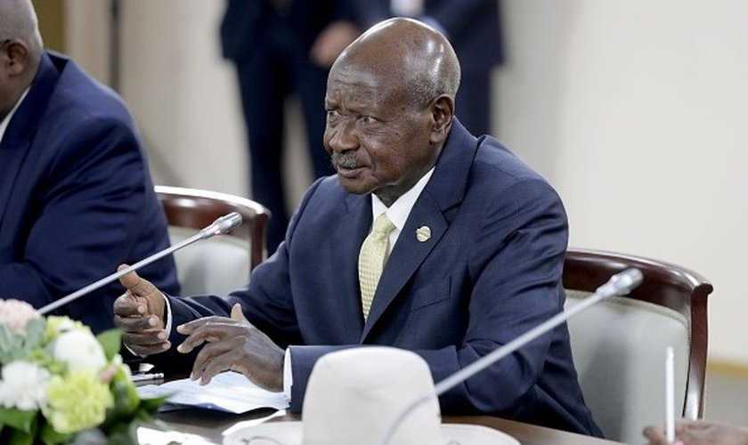 Presidente de Uganda, Yoweri Kaguta Museveni. (Foto: Mikhail Metzel / Getty Images)
