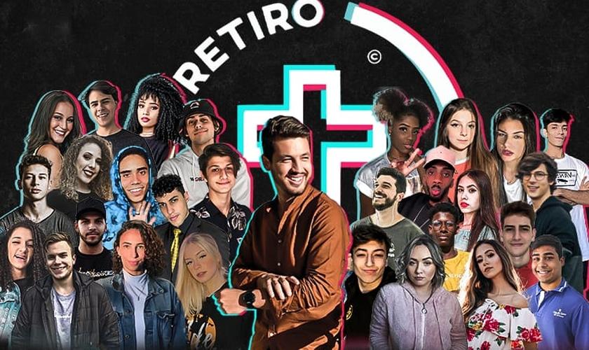 Pastor Guilherme Batista anunciou o evento em live no Instagram. (Foto: Reprodução/Instagram)