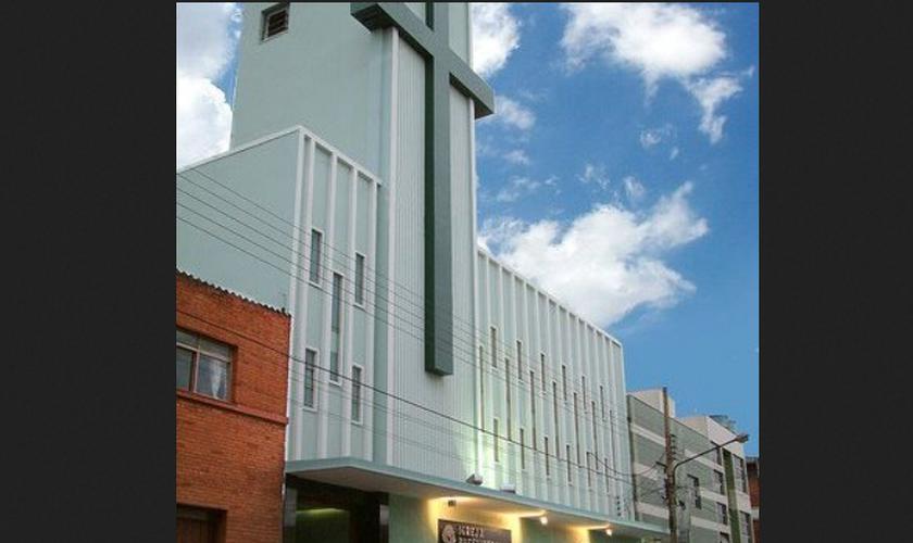 Fachada da Igreja Presbiteriana Central de Anápolis. (Foto: Reprodução / Portal6)