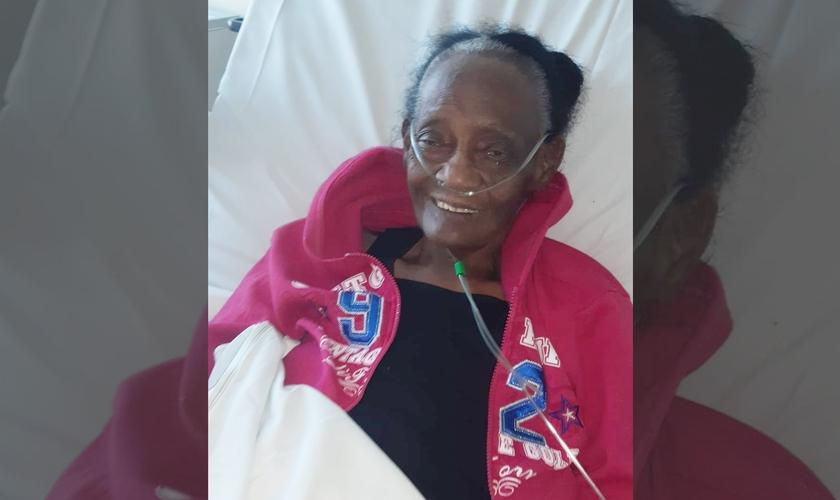 Aurita da Silva, de 94 anos, venceu o coronavírus e um diagnóstico de pneumonia. (Foto: Arquivo pessoal)