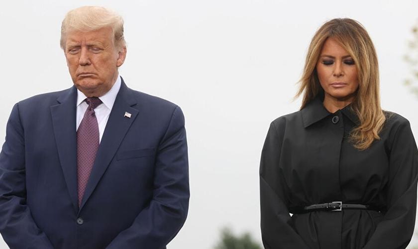 Donald e Melania Trump se recuperaram recentemente do coronavírus. (Foto: Jonathan Ernst / REUTERS)