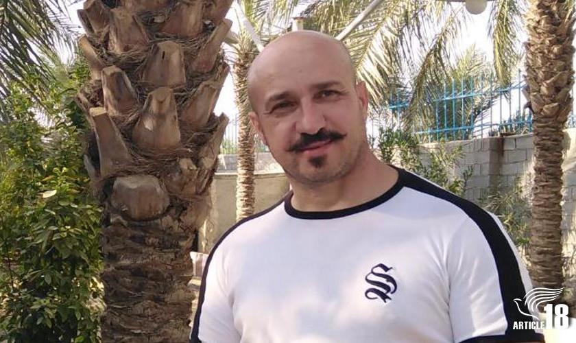 O cristão iraniano Youhan. (Foto: Reprodução / Artigo 18)