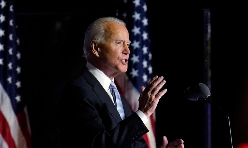 Joe Biden foi eleito presidente dos EUA após campanha dividida na Casa Branca. (Foto: Paul Sancya/AP)