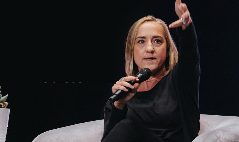 Christine Caine falou sobre oração e avivamento no evento virtual Q&A 2020. (Foto: Q Ideas)