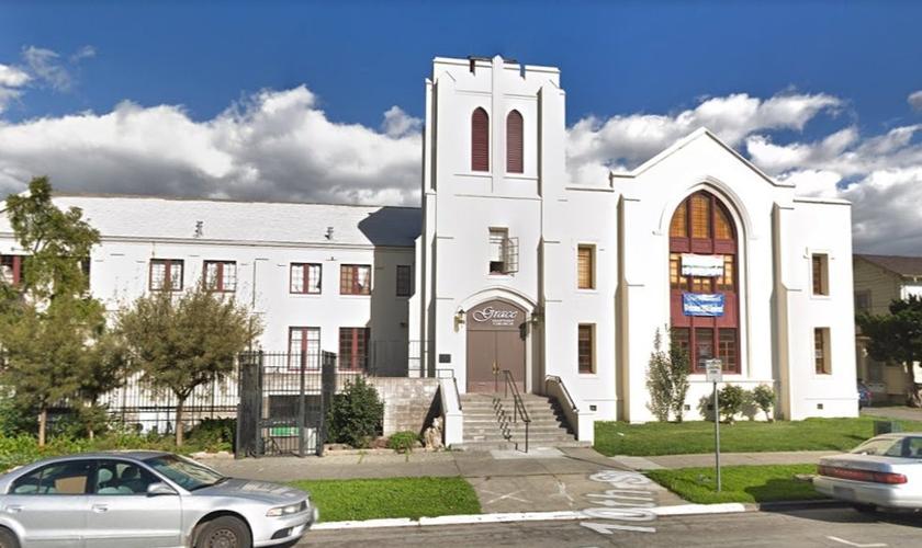 Pelo menos duas pessoas foram mortas após ataque com faca na Grace Baptist Church na cidade de San José. (Foto: Google Maps)