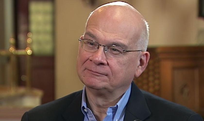 Tim Keller está lutando contra o câncer de pâncreas desde junho deste ano. (Imagem: ABC News)