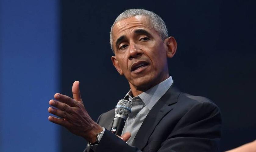 O ex-presidente Barack Obama durante evento em Munique, na Alemanha. (Foto: Christof Stache/AFP)