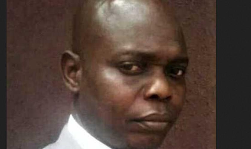 O Pr. Johnson Oladimeji, assassinado por extremistas Fulani. (Foto: Reprodução / Morning Star News)