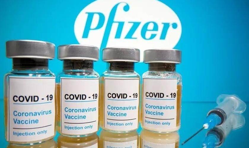 Vacina Pfizer-BioNTech. (Foto: Reprodução / CNN Brasil)