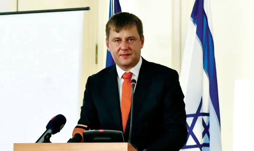 O ministro tcheco Tomas Petricek anunciou a abertura do escritório diplomático em Jerusalém. (Foto: Ministério das Relações Exteriores da República Tcheca)