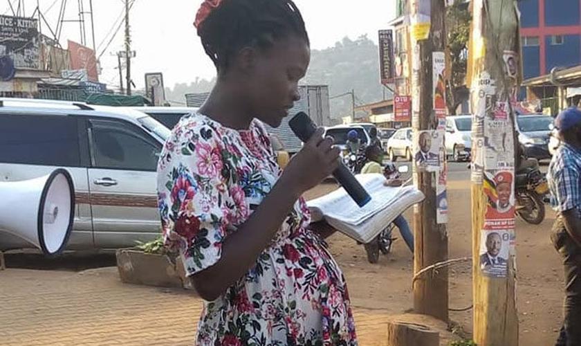 Gorret Odama defende as pregações de rua, especialmente nesta época de pandemia quando as igrejas estão com restrições. (Foto: Reprodução / Facebook)