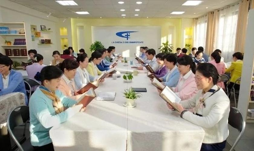 Refugiados da Igreja do Deus Todo-Poderoso. (Foto: Reprodução / Bitter Winter)