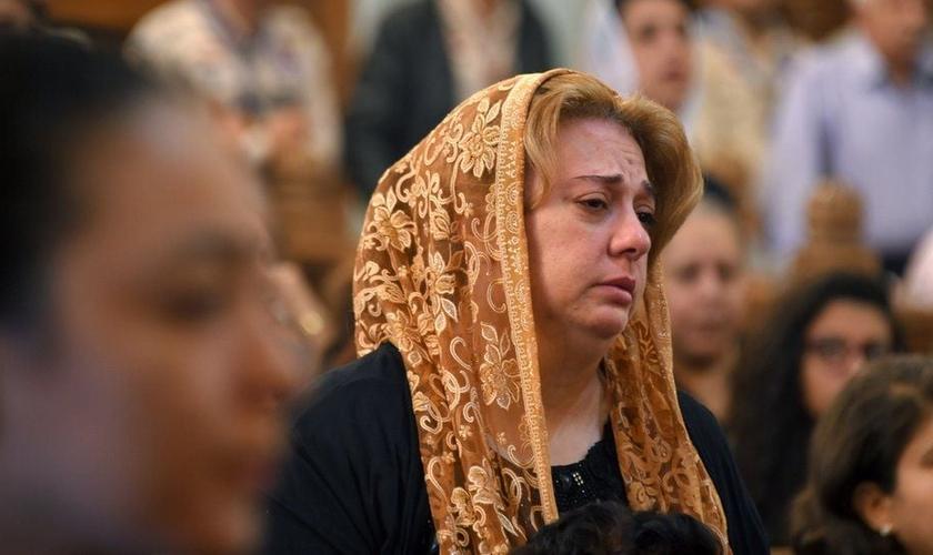 Os cristãos coptas do Egito sofreram ataques repetidos nos últimos anos. (Foto: Reprodução / AFP)