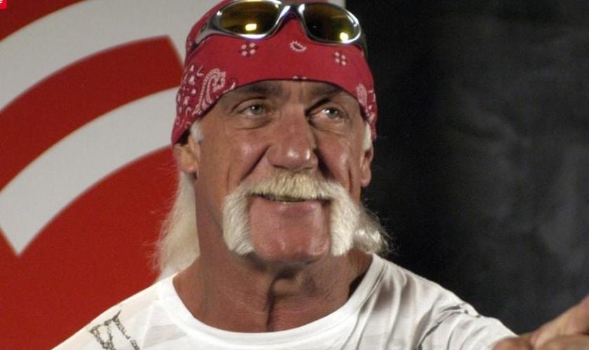 Hulk Hogan é ator, lutador e apresentador do programa WWE. (Foto: The Guardian)