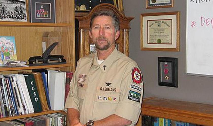 Rick Yeomans presta socorro a vítimas de tragédias. (Foto: Reprodução / God Reports)